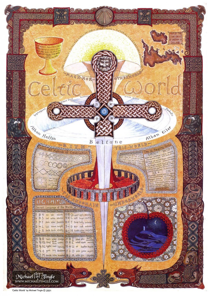 Celtic World - A2 Print
